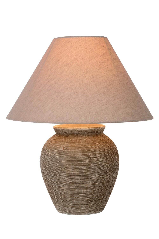 RAMZI Table lamp Ø 35 cm 1xE27 Brown