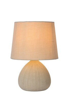 RAMZI Table lamp Ø 18 cm 1xE14 Cream