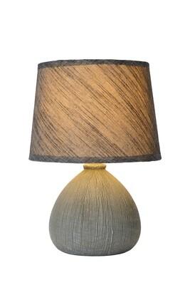 RAMZI Table lamp Ø 18 cm 1xE14 Grey