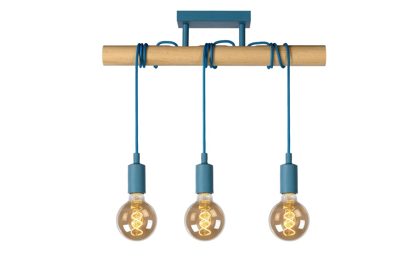 PAULIEN ceiling light Children 3xE27 Blue