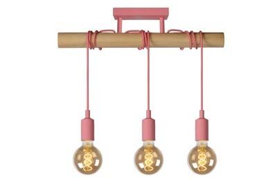 PAULIEN ceiling light Children 3xE27 Pink