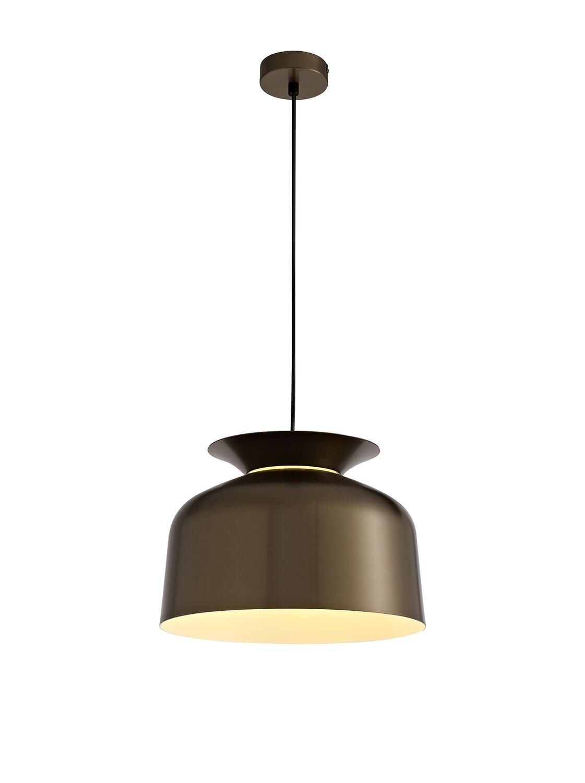 Tilda Single Pendant, 1 Light Adjustable E27, Antique Bronze
