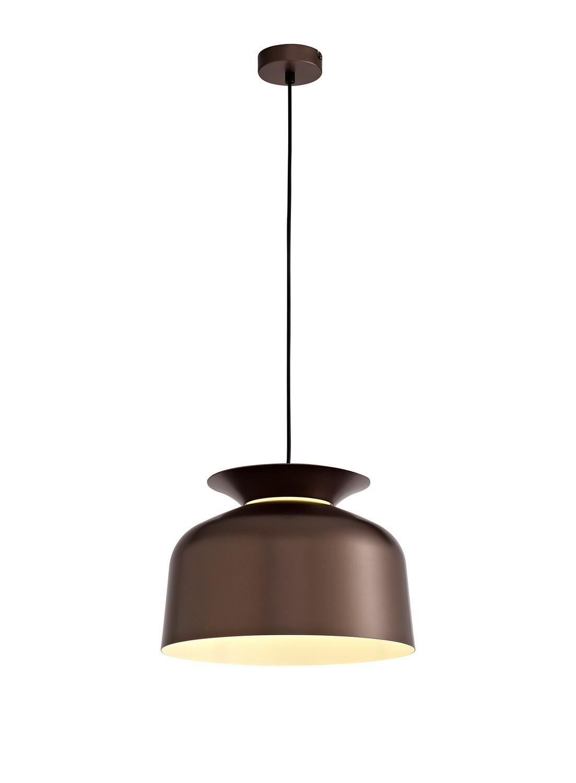 Tilda Single Pendant, 1 Light Adjustable E27, Gloss Coffee