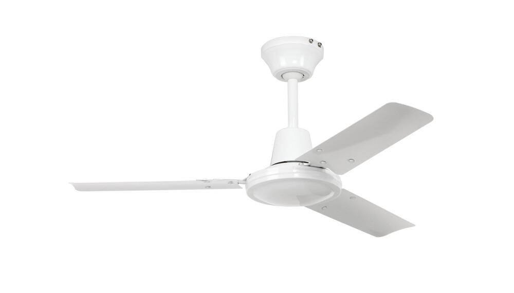 Tristar II 90 WE ceiling fan by CASAFAN Ø90 white