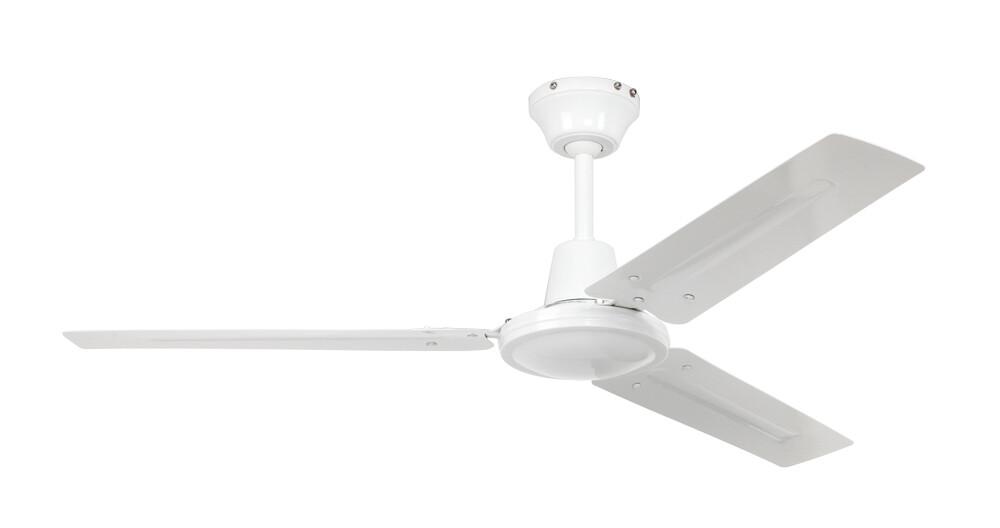 Tristar II 120 WE ceiling fan by CASAFAN Ø120 white