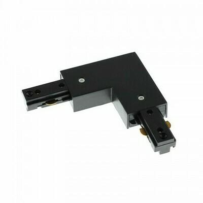 L connector for IGLUX Bi-phase track series BLACK