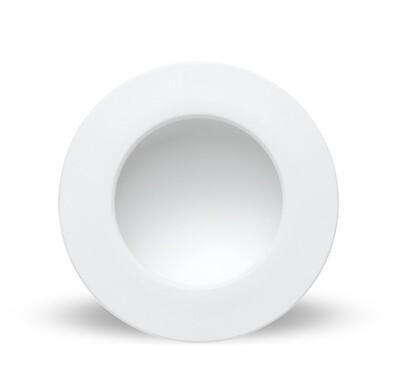 Cabrera Downlight 22.5cm Round 24W LED, Matt White