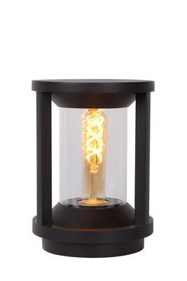CADIX Column luminaire Ø16 cm 1xE27 IP65 Black