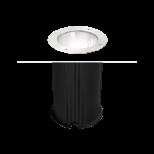 CITERA round inground recessed 1xE27 IP67 stainless steel