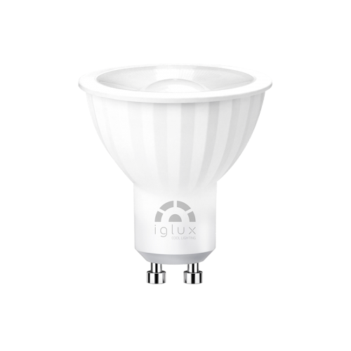 GU10-LED 7W beam 120º 4000K (natural white) 650lm DIMMABLE