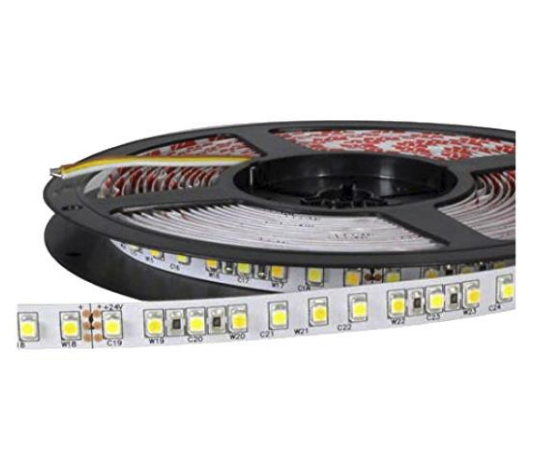LED strip light 24V 4.6W/m 60 LED's/m IP20 by iglux (Spain)
