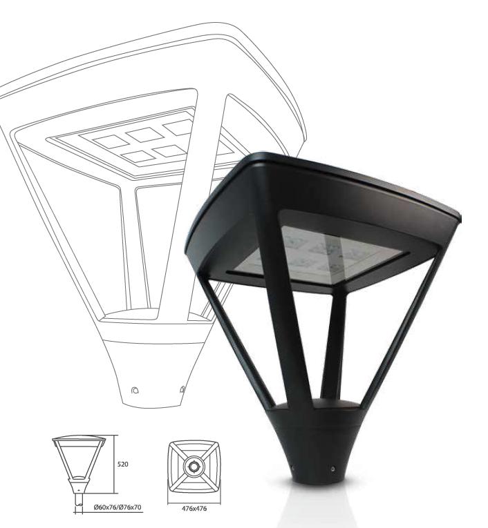 NEOVILLE street-lighting 70W 12.641 lm