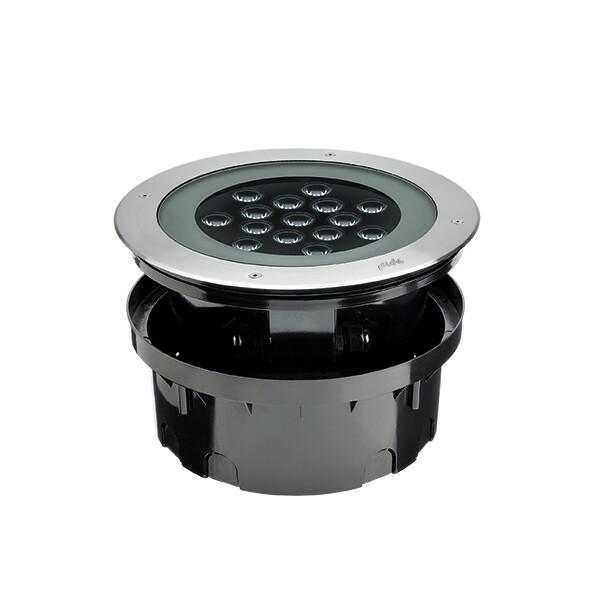Inground recessed HYDROFLOOR MAXI COMPACT PRO LED 40W IP67