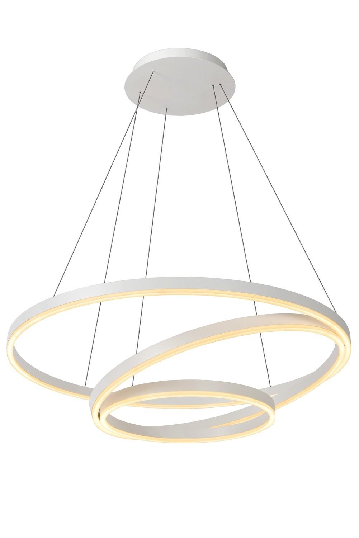 TRINITI Pendant light Ø 80cm LED Dimmable 3000K White