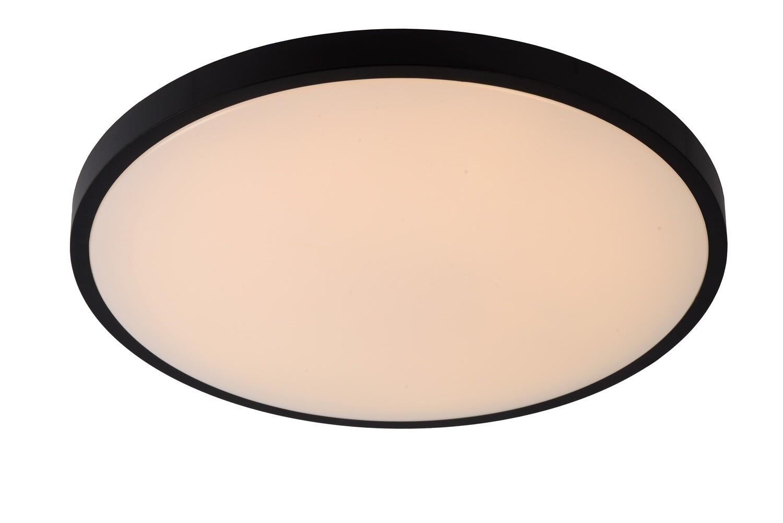 POLARIS  Flush ceiling light Ø 45,7cm LED Dim to warm 1x40W 2700K/4000K - Black