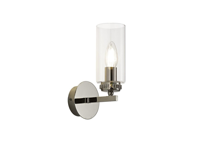 Langara Wall Lamp Switched 1xE14 Polished Nickel
