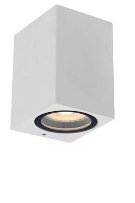 ZARO square Wall spotlight Outdoor  1xGU10 IP44 White