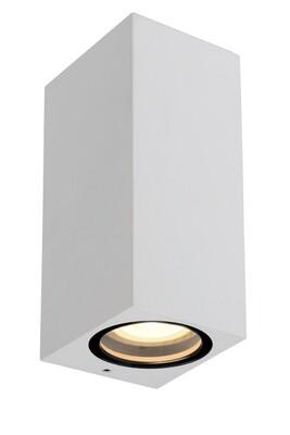 ZARO square Wall spotlight Outdoor  2xGU10 IP44 White