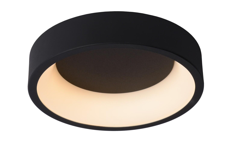 TALOWE LED  Flush ceiling light  Ø 30 cm  LED Dimmable 1x20W 3000K Black
