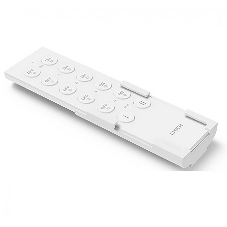 F5 RF Dimming Remote Control 2.4GHz RF CR2032 4-zone 20m Range 12 Key Work with F4-5A controller
