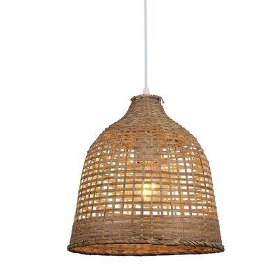 LALAS braided bamboo luminaire 1xE27