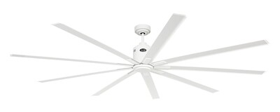 BIG SMOOTH ECO WE white by CASAFAN Ø220 with remote control included