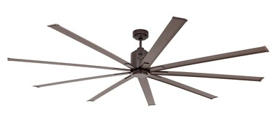BIG SMOOTH ECO BZ bronze by CASAFAN Ø220 with remote control included