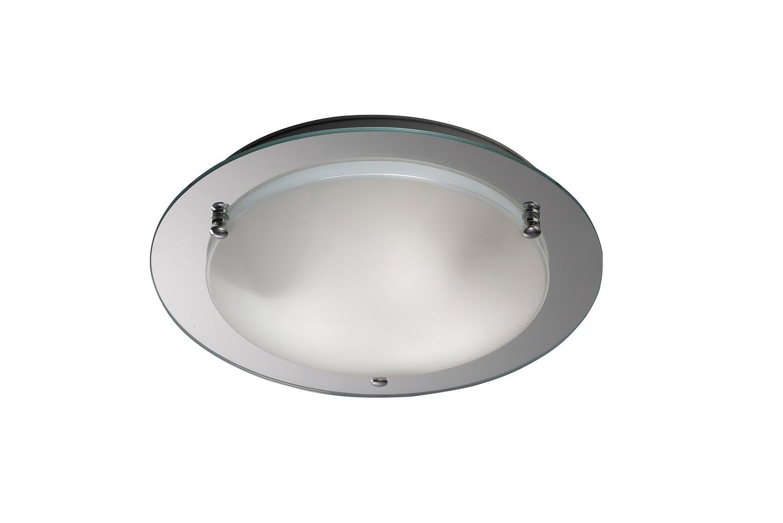 Brooklyn Ceiling 400mm Round 3 Light E27 Polished Chrome