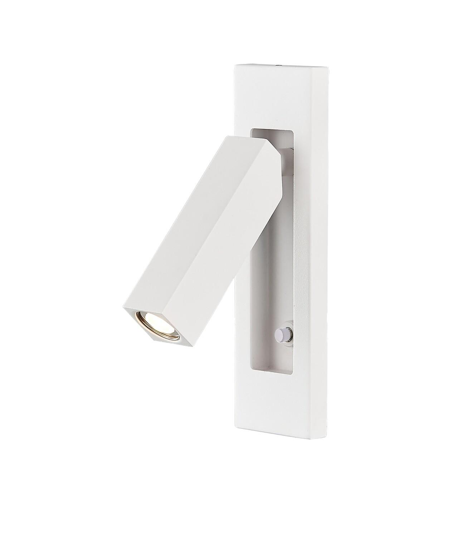 Gokova Wall Lamp, 3W LED, 3000K, 210lm, Sand White