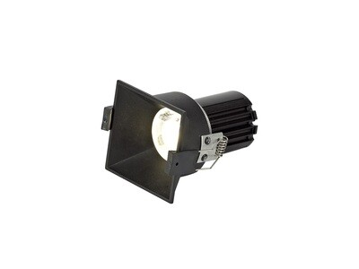 BIOX LED Spot-light IP44 10W Black dimmable