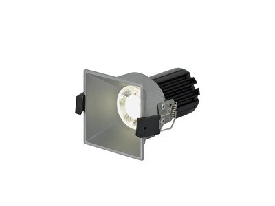 BIOX LED Spot-light IP44 10W Silver dimmable