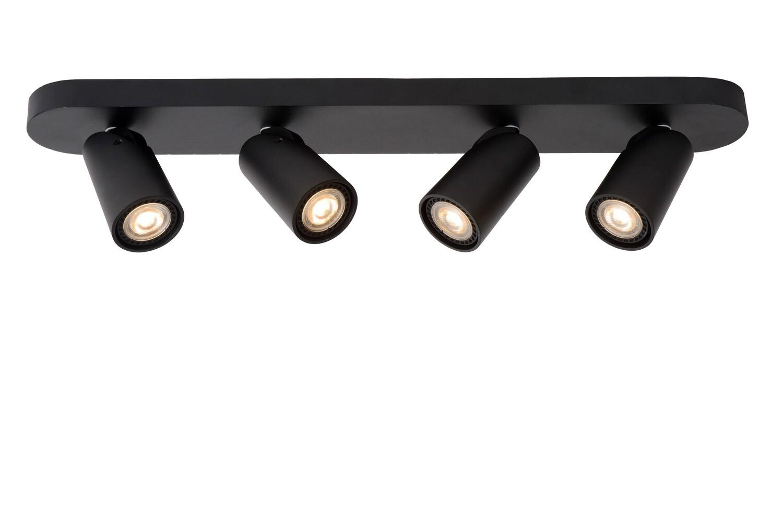 XYRUS - Ceiling spotlight  Ø 9 cm  LED Dim to warm 4x5W 2200K/3000K - Black