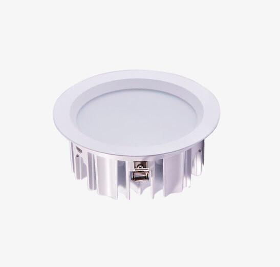 DWEF professional LED downlight Ø225 37W White IP54