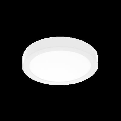 SUPERFICIE ROUND Ø120 surface downlight 7W IP43 white