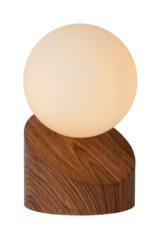 LEN Table lamp Ø 10cm 1xG9 Dark Wood