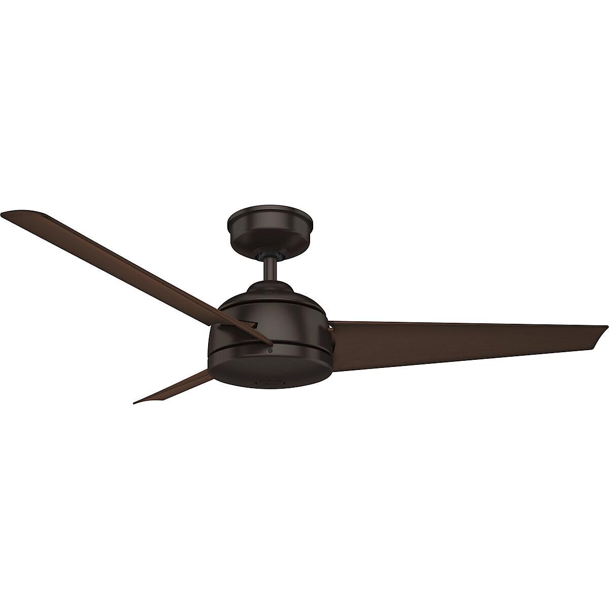 HUNTER TRIMARAN PREMIER BRONZE outdoor ceiling fan Ø132cm wall control included
