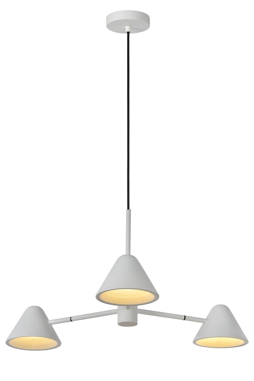DEVON Pendant light 3x3W LED 3000K White