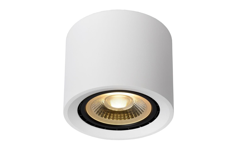FEDLER Ceiling Spotlight Dim-to-warm Round WHITE