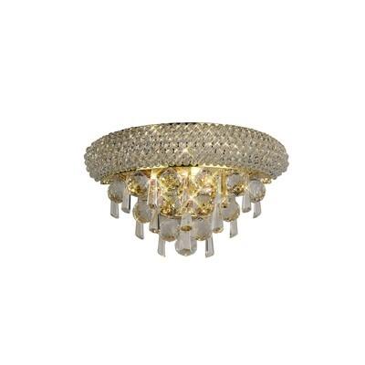 Alexandra Wall Lamp Small Gold/Crystal 2 Light E14
