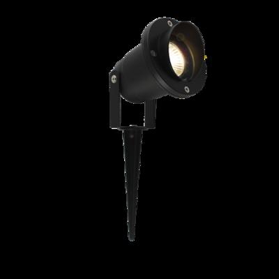VISERA GU10 Spike Light IP65 Black