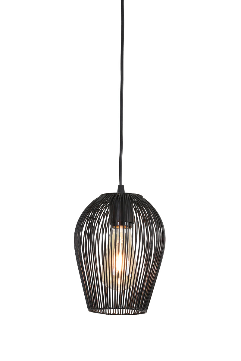 ABBY Hanging lamp Ø16x20 cm matt black