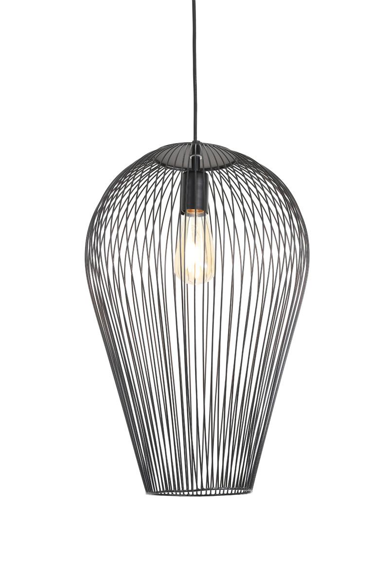 ABBY Hanging lamp Ø37x50 cm matt black