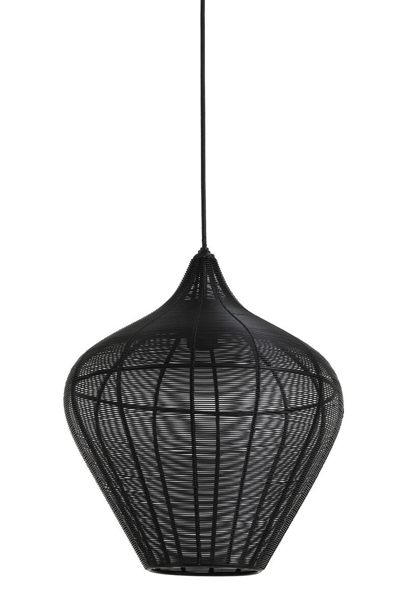 VARO Hanging lamp Ø36x40 cm matt black