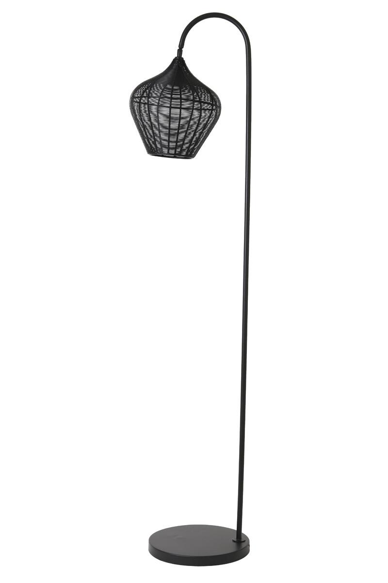 VARO  Floor lamp 35x30x160 cm matt black dimmable