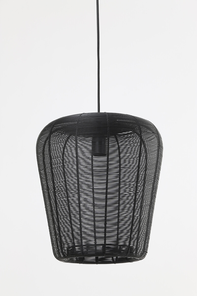 ADETA Hanging lamp Ø31x37 cm matt black