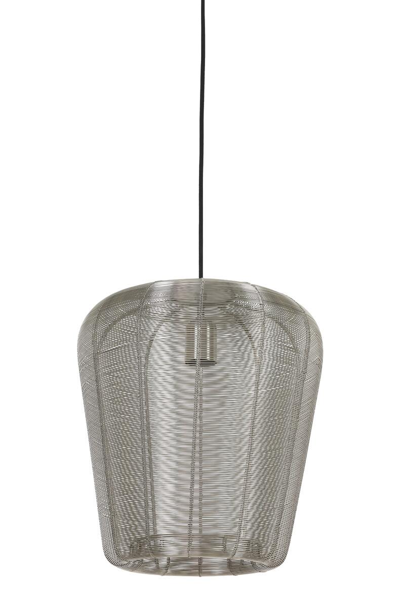 ADETA Hanging lamp Ø31x37 cm nickel