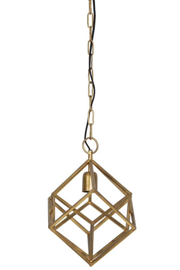 DRIZELLA Hanging lamp Ø26x36 cm gold