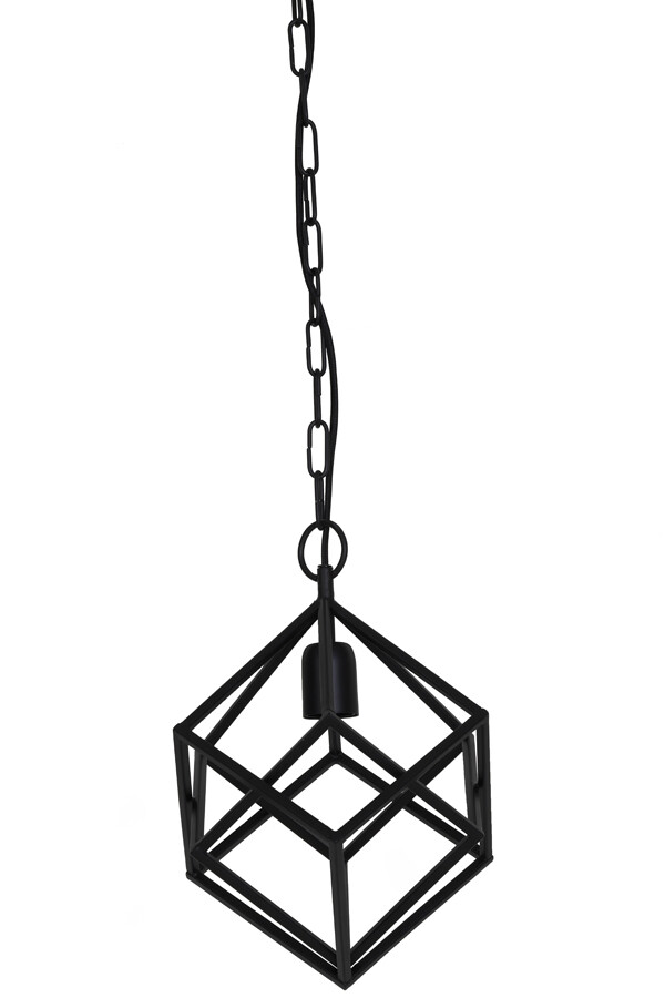 DRIZELLA Hanging lamp Ø26x36 cm matt black
