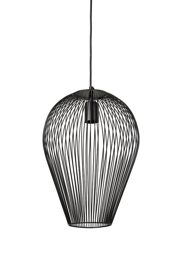 ABBY Hanging lamp Ø19x26 cm matt black
