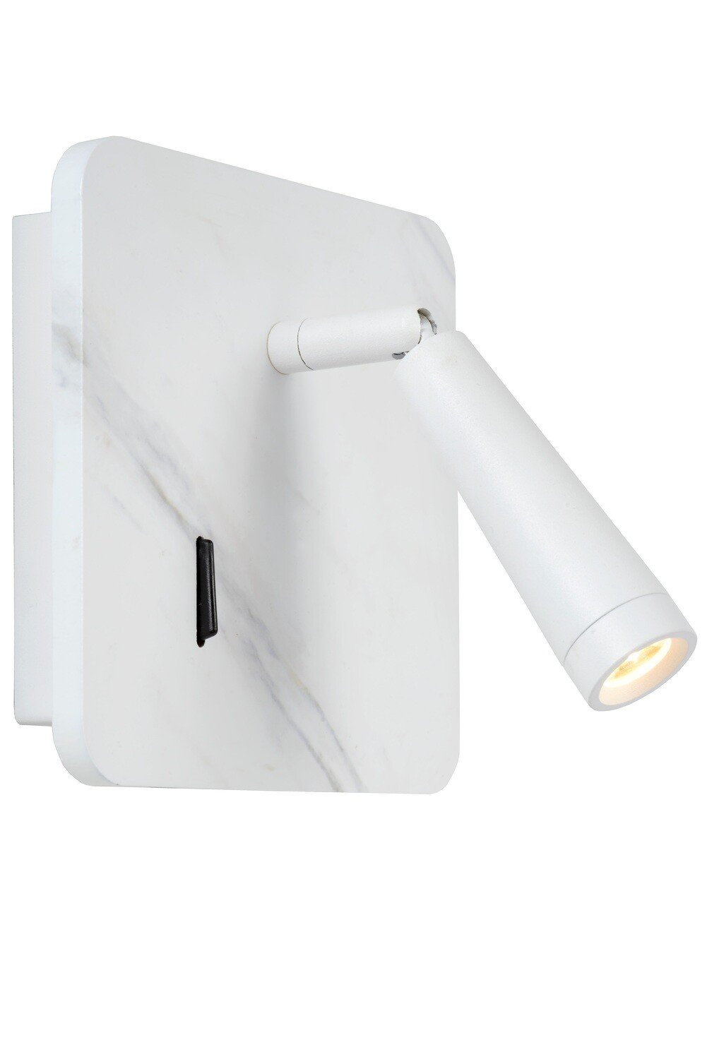 OREGON Bedside lamp LED 1x3W 3000K With USB charging point  White
